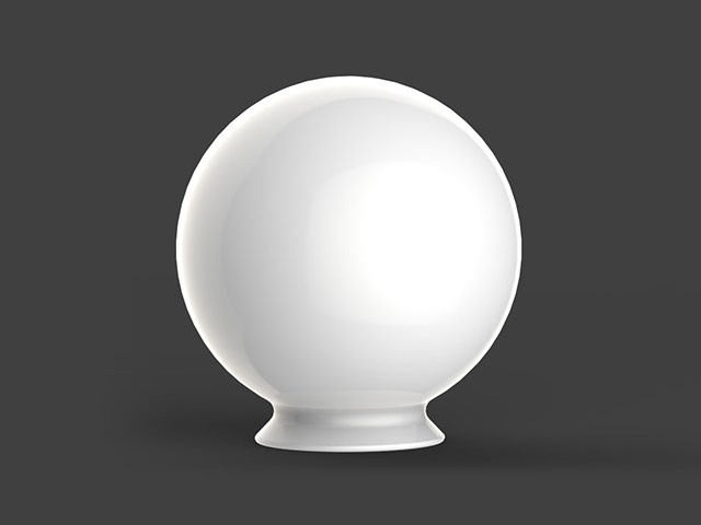 Diffuser Sphere with Collar