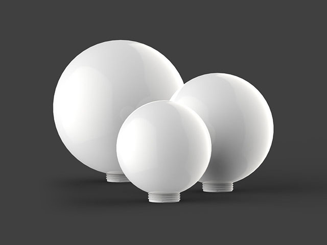 Diffuser Threaded Spheres
