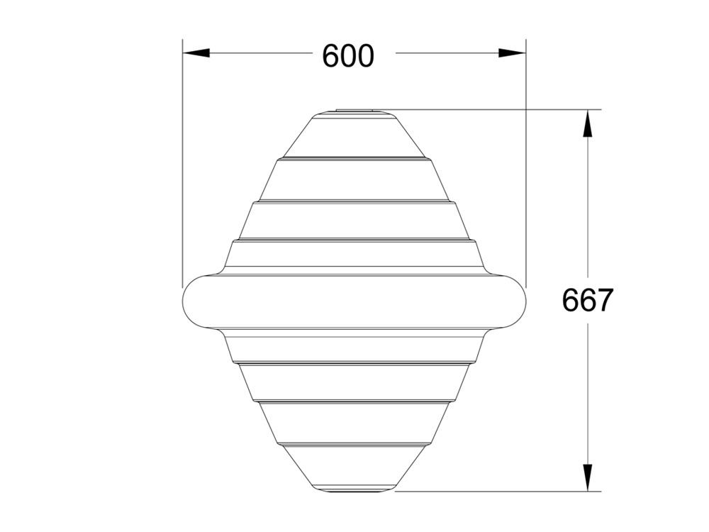 Mooring Buoy MB24 Dimensions