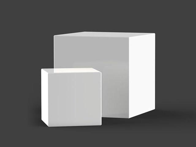 Diffuser Light Cubes