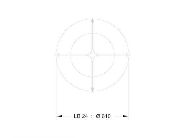 LB24 - Dimensions