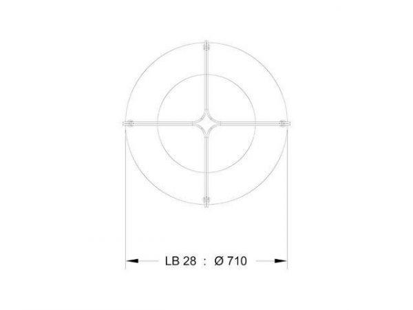 LB28 - Dimensions