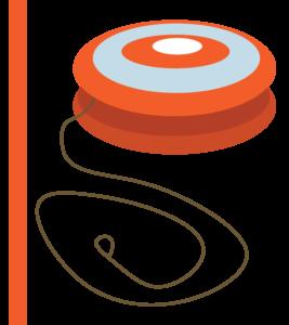 Orange Yo-yo